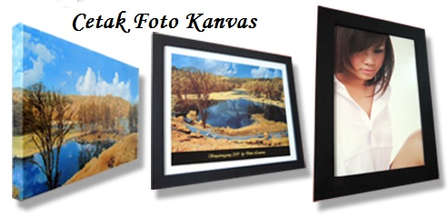 Tips Cetak Foto Kanvas